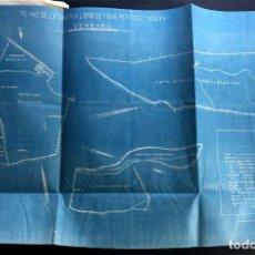 Mapas contemporáneos: BERGARA ( GUIPUZCOA ) AÑO 1921 / CASERIO DE LAMBIDE / MAPA - PLANO. Lote 204816493