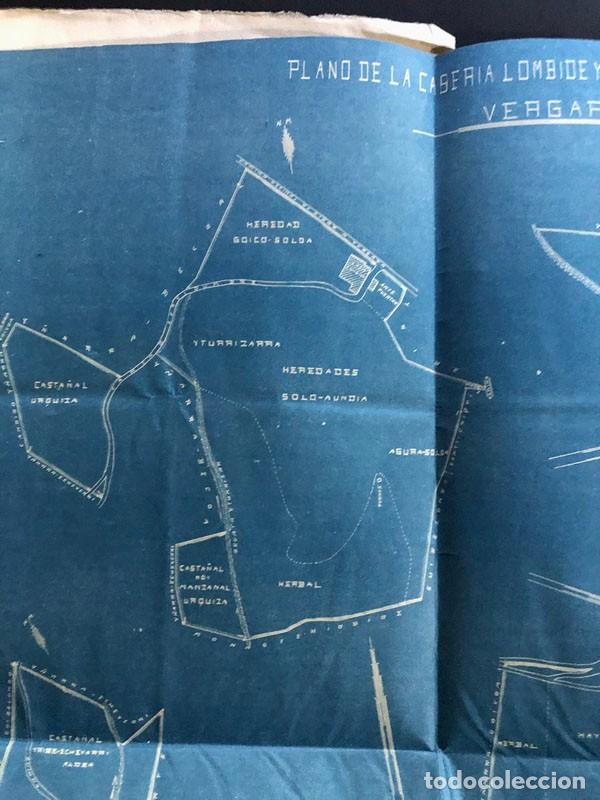 Mapas contemporáneos: BERGARA ( GUIPUZCOA ) AÑO 1921 / CASERIO DE LAMBIDE / MAPA - PLANO - Foto 5 - 204816493