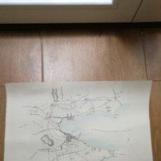 Mapas contemporáneos: MAPA ANTIGUO SIGLO XIX CAMPBELLTOWN ESCOCIA(REINO UNIDO GRAN BRETAÑA)1832. Lote 205042746