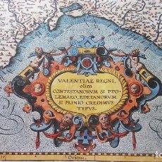 Mapas contemporáneos: MAPA DEL REINO DE VALENCIA.. Lote 205284748