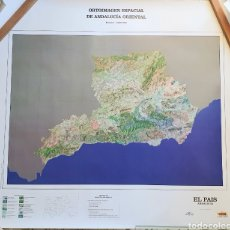 Mapas contemporáneos: ORTOIMAGEN ESPACIAL DE ANDALUCIA ORIENTAL.ESCALA 1:600.000. Lote 205319228