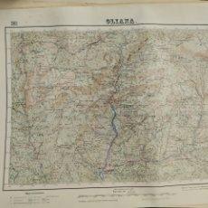 Mapas contemporáneos: MAPA OLIANA. Lote 205406460