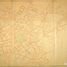 Mapas contemporáneos: PLANO NOMENCLÁTOR DE CALLES Y PLAZAS DEL AYUNTAMIENTO DE OVIEDO.. Lote 205783915