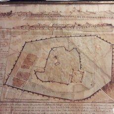 Mapas contemporáneos: MAPA (PLANO) DEL SIGLO XIX DE SARABRIS (MEDINA DEL CAMPO),DE JULIAN DE AYLLON.. Lote 206263616