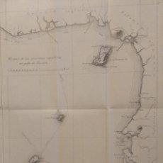 Mapas contemporáneos: CROQUIS DE LAS POSESIONES ESPAÑOLAS DEL GOLFO DE GUINEA ( APROX 1907). Lote 206829562