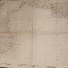 Mapas contemporâneos: ANTIGUO MAPA O CARTA NAUTICA GOLFO DE LEON. Lote 206871411