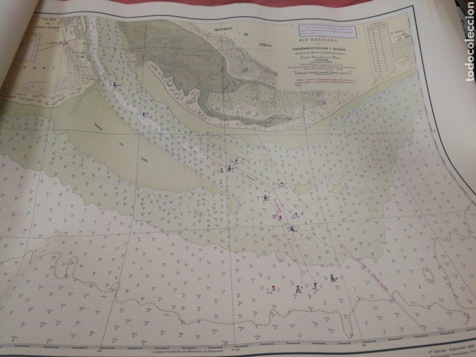 Mapas contemporáneos: Carta del rio guardia. 1955. - Foto 4 - 206977373