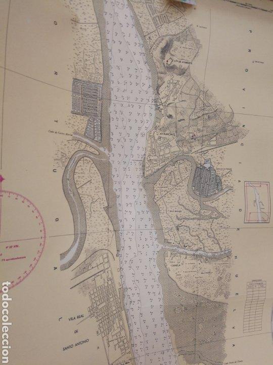 Mapas contemporáneos: Carta del rio guardia. 1955. - Foto 5 - 206977373