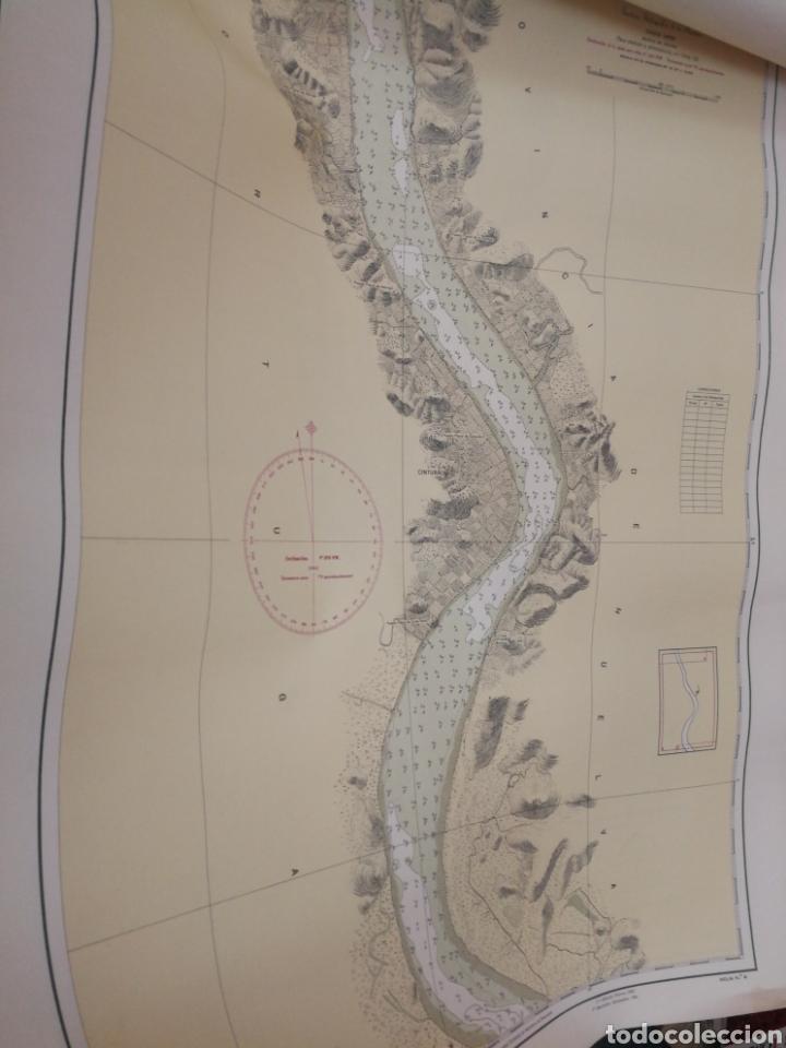 Mapas contemporáneos: Carta del rio guardia. 1955. - Foto 6 - 206977373
