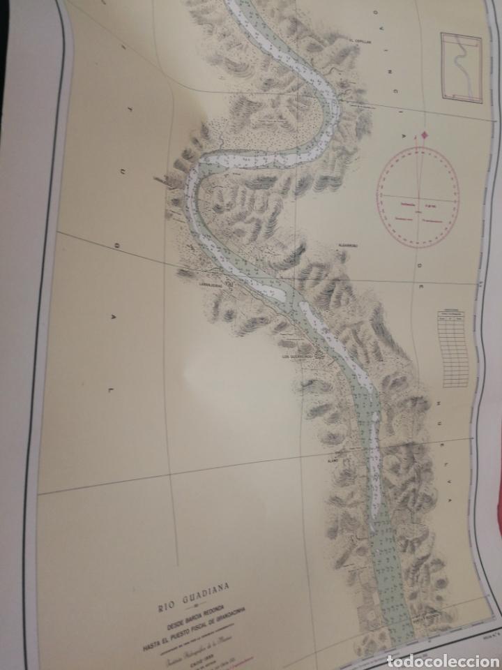 Mapas contemporáneos: Carta del rio guardia. 1955. - Foto 8 - 206977373