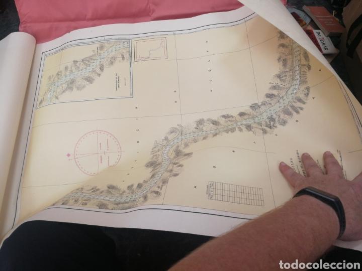 Mapas contemporáneos: Carta del rio guardia. 1955. - Foto 10 - 206977373