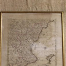 Mapas contemporáneos: MAPA DE VALENCIA IBIZA. Lote 207077962