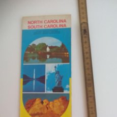 Mapas contemporáneos: MAPA DE CARRETERAS NORTH CAROLINA - SOUTH CAROLINA. SUNOCO DX SUN OIL COMPANY.. Lote 207287182