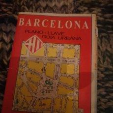 Mapas contemporáneos: MAPA - BARCELONA ANTIGUO. Lote 207320378