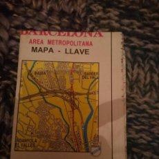 Mapas contemporáneos: MAPA - BARCELONA ANTIGUO. Lote 207320442