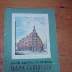 Mapas contemporáneos: MAPA ESPAÑOL DE CREDITO. MAPA TURISTICO. EST19B6. Lote 208343963