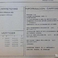 Mapas contemporáneos: MAPA TOPOGRÁFICO MÁLAGA 1978, HOJA 2. Lote 208473080