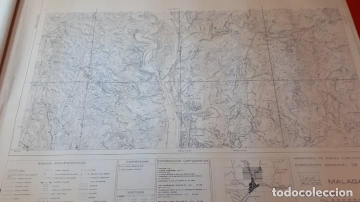Mapas contemporáneos: Mapa topográfico Málaga 1978, hoja 2 - Foto 2 - 208473080
