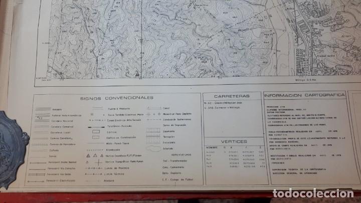 Mapas contemporáneos: Mapa topográfico Málaga 1978, hoja 2 - Foto 5 - 208473080