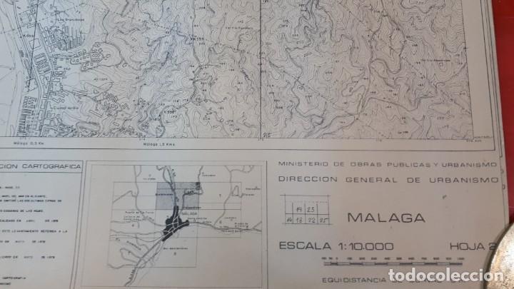 Mapas contemporáneos: Mapa topográfico Málaga 1978, hoja 2 - Foto 6 - 208473080