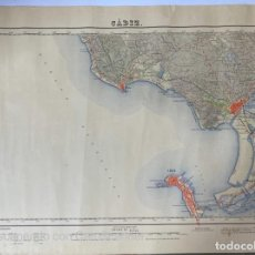 Mapas contemporáneos: MAPA DE CÁDIZ. ESCALA 1: 50000. HOJA 1061. INSTITUTO GEOGRAFICO ESTADISTICO. 1965. VER. Lote 209660583