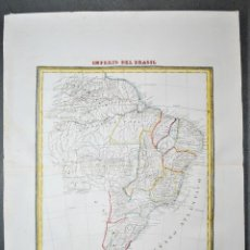 Mapas contemporáneos: IMPERIO DEL BRASIL.. Lote 2716544