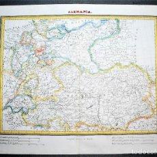Mapas contemporáneos: ALEMANIA. GERMANY. DEUTSCHLAND. Lote 5207366