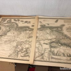 Mapas contemporáneos: FANTASTICO MAPA COLOMBIA EN LA AMERICA MERIDIONAL - AÑO 1841 - MEDIDA TOTAL 150X81,5 CM. Lote 210477393