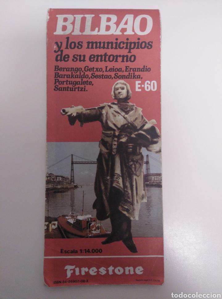 Mapas contemporáneos: Plano de Bilbao y Municipios de su entorno. - Foto 2 - 210526860