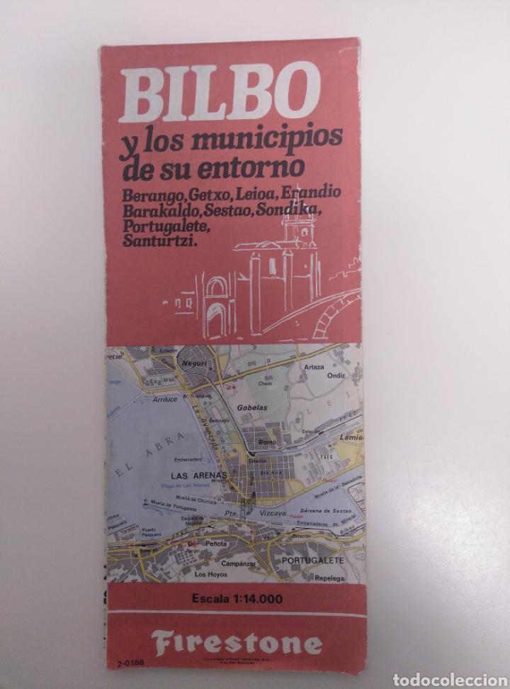 PLANO DE BILBAO Y MUNICIPIOS DE SU ENTORNO. (Coleccionismo - Mapas - Mapas actuales (desde siglo XIX))