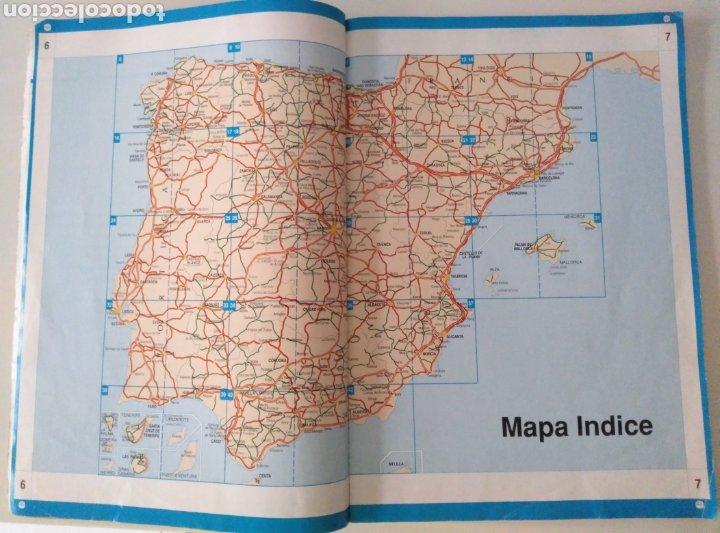 Mapas contemporáneos: Mapa de carreteras y guía de servicios Mapfre. - Foto 2 - 211721981