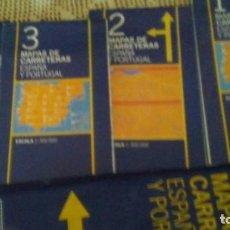 Mapas contemporáneos: MAPAS ESPAÑA Y PORTUGAL. Lote 211869427