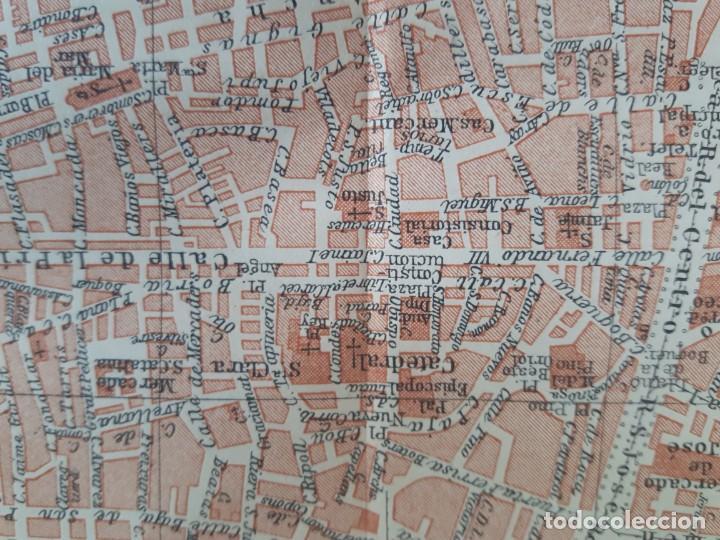 Mapas contemporáneos: Detallado Mapa antiguo 1908 de Barcelona - Foto 3 - 211916422