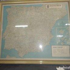 Mapas contemporáneos: MAPA DE ESPAÑA AÑO 1962 (BANCO BILBAO). Lote 212732213