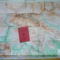 Mapas contemporáneos: GUÍA CARTOGRÁFICA + MAPA - PARQUE NACIONAL ORDESA MONTE PERDIDO VIGNEMALE PINETA (ED. ALPINA, 1988). Lote 212891171