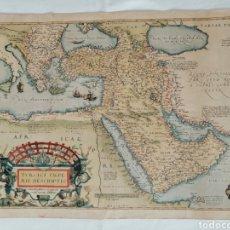 Mappe contemporanee: TURCICI IMPERII DESCRIPTION EGIPTO ANTIGUO.. Lote 220541270