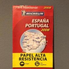 Mapas contemporáneos: MAPA DE CARRETERAS . MICHELIN. ESPAÑA / PORTUGAL. 2008. Lote 214702651