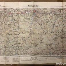 Mapas contemporáneos: EZCARAY (LA RIOJA). MAPA ESCALA 1:50000 DE 1955.. Lote 216511337