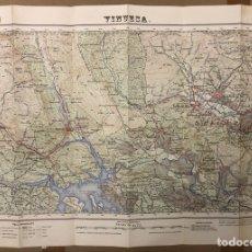 Mapas contemporáneos: EZCARAY (LA RIOJA). MAPA ESCALA 1:50000 DE 1955.. Lote 216511451