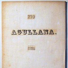 Mapas contemporáneos: AGULLANA - MADRID 1950 - MAPA. Lote 216911806