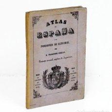 Mapas contemporáneos: COELLO (FRANCISCO) Y MADOZ (PASCUAL).- MAPA DE LA CORUÑA, 1865. 106 X 80 CM. Lote 217366761