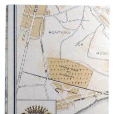 Mapas contemporáneos: PLANO DE BARCELONA DEL AÑO 1952 POR EL XXXV CONGRESO EUCARÍSTICO INTERNACIONAL.. Lote 217580056