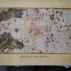 Mappe contemporanee: MAPA CARTA DE JUAN DE LA COSA AÑO 1500. Lote 217856101