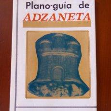 Mapas contemporáneos: PLANO-GUIA ADZANETA DEL MAESTRAT. Lote 218505341