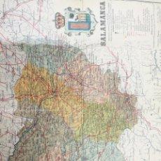 Mapas contemporáneos: ANTIGUO MAPA DE SALAMANCA DE LA PROVINCIA DE SALAMANCA. Lote 218719722
