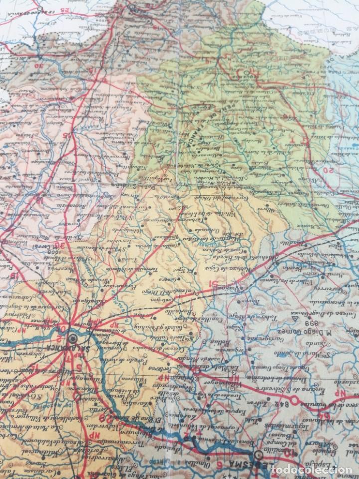 Mapas contemporáneos: antiguo mapa de salamanca de la provincia de salamanca - Foto 2 - 218719722