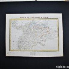 Cartes géographiques contemporaines: COLOMBIA. MAPA. MAPA DE LA NUEVA GRANADA Y CARACAS. 1835.. Lote 27374400
