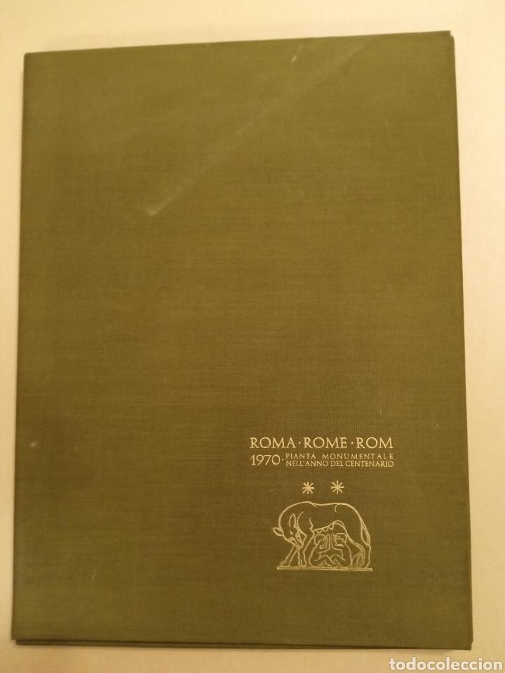Mapas contemporáneos: Mapa ROMA Pianta monumentale nellanno del Centenario 1970 Armando Ravaglioli Italia - Foto 2 - 218840651