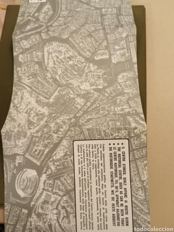 Mapas contemporáneos: Mapa ROMA Pianta monumentale nellanno del Centenario 1970 Armando Ravaglioli Italia - Foto 6 - 218840651