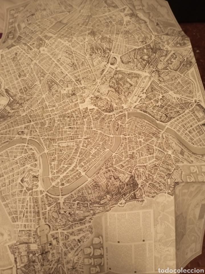 Mapas contemporáneos: Mapa ROMA Pianta monumentale nellanno del Centenario 1970 Armando Ravaglioli Italia - Foto 7 - 218840651